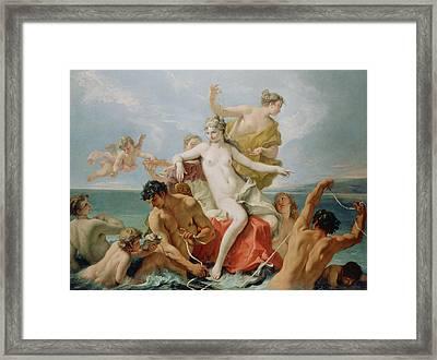 Triumph Of The Marine Venus Framed Print