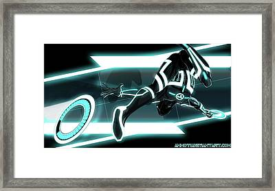 Tron Legacy Framed Print