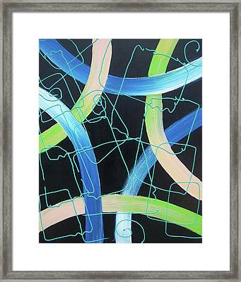 Tron Framed Print by Nino  B