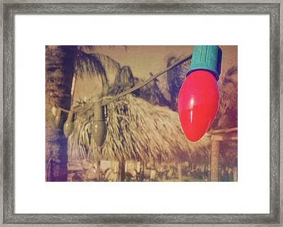 Tropical Holiday Framed Print by JAMART Photography