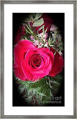 True Love Framed Print by Becky Lupe