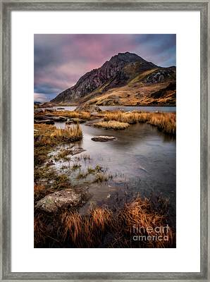 Tryfan Mountain Framed Print by Adrian Evans