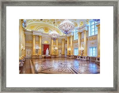 Tsaritsyno Palace Framed Print by Alexey Stiop