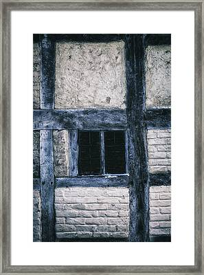 Tudor House Framed Print