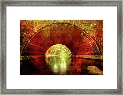 Framed Print featuring the photograph Tunnel Vision by Alan Raasch
