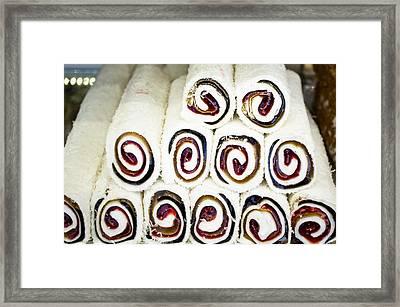 Turkish Confectionary Framed Print