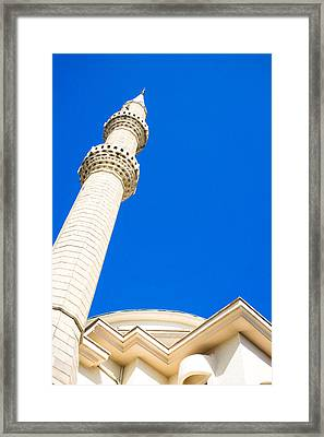 Turkish Mosque Framed Print by Tom Gowanlock