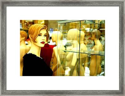 Turn Away Framed Print by Jez C Self