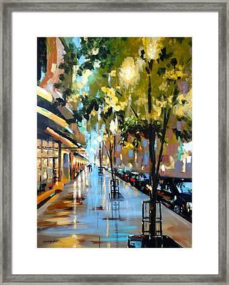 Twenty One East Hubbard Street Chicago Framed Print
