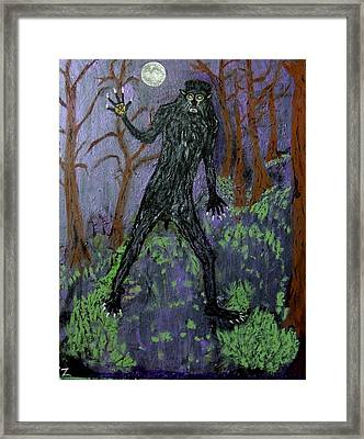 Twilight My Ass. Let's Kill Something. Framed Print by Ken Zabel