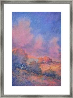 Twilight Time No 1 Framed Print by Virgil Carter
