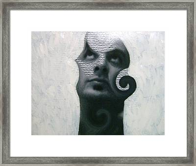Twisted Framed Print by Miguel Davlantes
