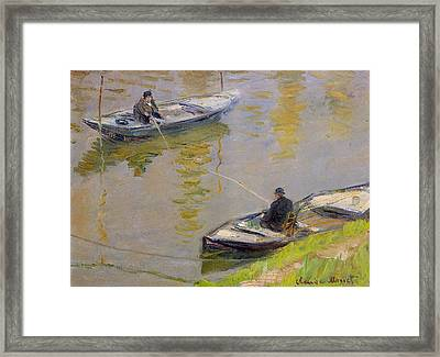 Two Anglers Framed Print