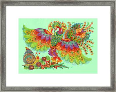 Two Beauties Framed Print by Olena Skytsiuk