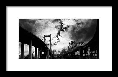 Carquinez Bridge Framed Prints