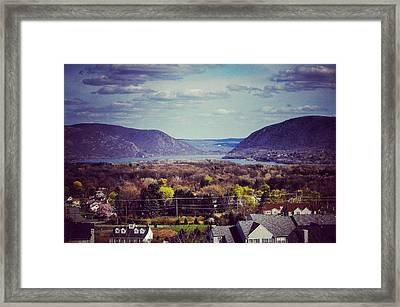 Two Mountains Framed Print