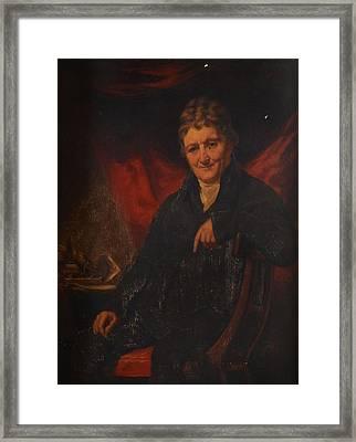 Two Portraits Of Seated Gentleman Framed Print by Henry Raeburn