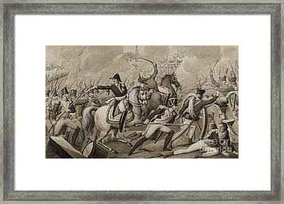 Two Scenes From The Napoleonic Wars Framed Print by MotionAge Designs