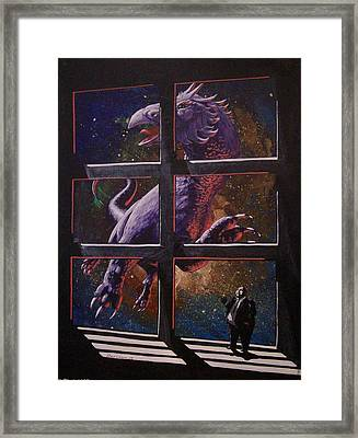 U-gi-o Framed Print by David  Larcom
