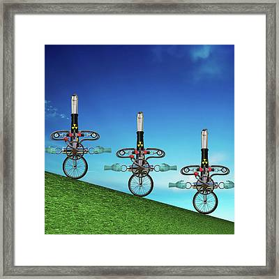Unanchored  Framed Print by Steve Sperry