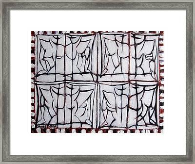 Unbound 5 Framed Print by Rene Hinds