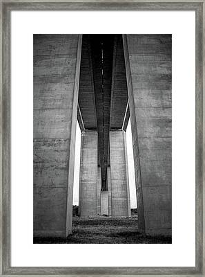 Under A Bridge Framed Print by Svetlana Sewell