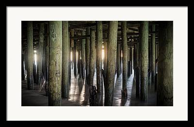 Casino Pier Framed Prints