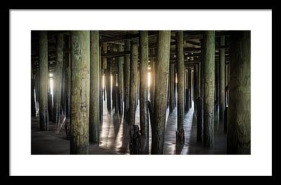 Casino Pier Photographs Framed Prints