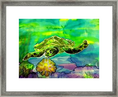 Under The Sea Framed Print by Beverly Johnson