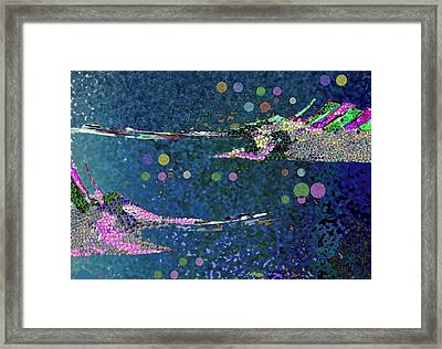 Under The Sea Framed Print by Mimo Krouzian