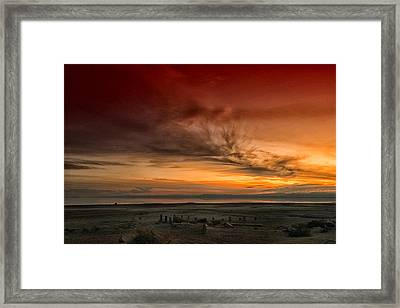 The Salton Gateway Framed Print