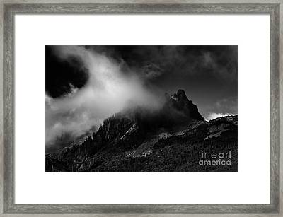 Unicorn Peak Framed Print