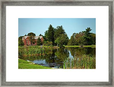 University Of Connecticut Framed Print by Mountain Dreams