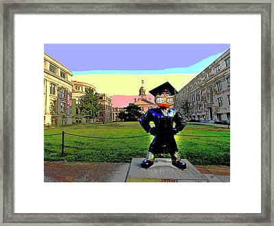 University Of Iowa Framed Print