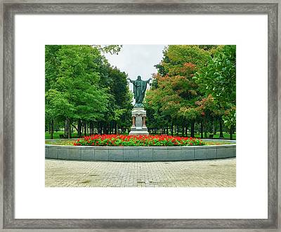 University Of Notre Dame Campus Framed Print by Mountain Dreams