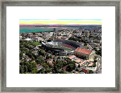 University Of Wisconsin Framed Print by Charles Shoup