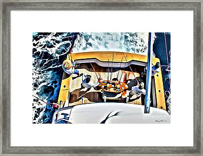 Uno Mas Framed Print by Carey Chen