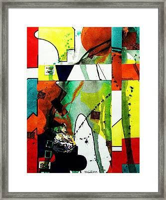 Untitled Abstract Framed Print by Tom Herrin