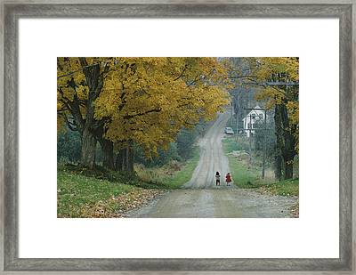 Untitled Framed Print by B. Anthony Stewart