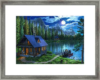 Untitled Framed Print by Dominic Davison