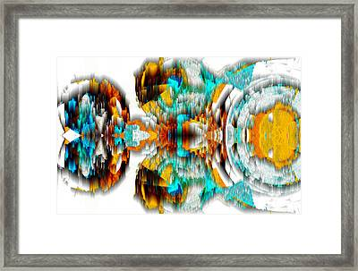 Framed Print featuring the digital art Untitled Series 992.042212 -c by Kris Haas