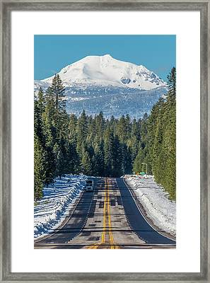 Up To The Mountain Framed Print