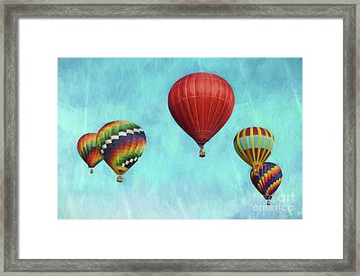 Framed Print featuring the photograph Up Up And Away 2 by Benanne Stiens