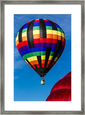 Up Up And Away Framed Print by Teri Virbickis
