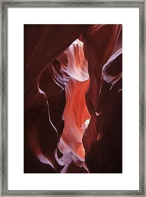 Upper Antelope Canyon 7787 Framed Print
