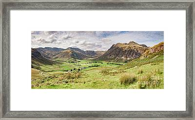 Upper Langdale, English Lake District Framed Print by Colin and Linda McKie