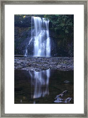 Upper North Falls Framed Print