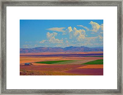 Us 30 Idaho Framed Print