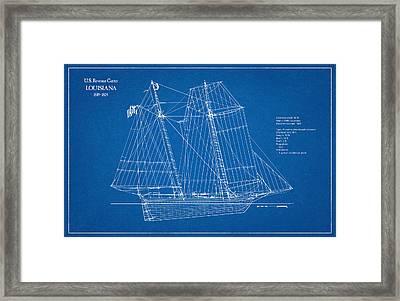 U.s. Coast Guard Revenue Cutter Louisiana Framed Print