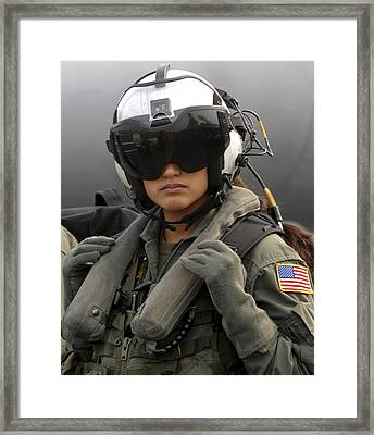 U.s. Navy Aviation Warfare Systems Framed Print by Stocktrek Images